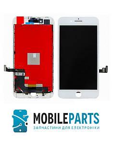 Дисплей для телефона Apple iPhone 8 Plus с сенсорным стеклом (Белый) Оригинал