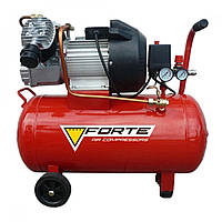Компрессор 50 л, 420 л/мин, 2.2 кВт, 8 бар, Forte VFL-50 (19849)