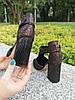 Туфли женские замшевые на высоком устойчивом каблуке, цвет бордо, фото 4