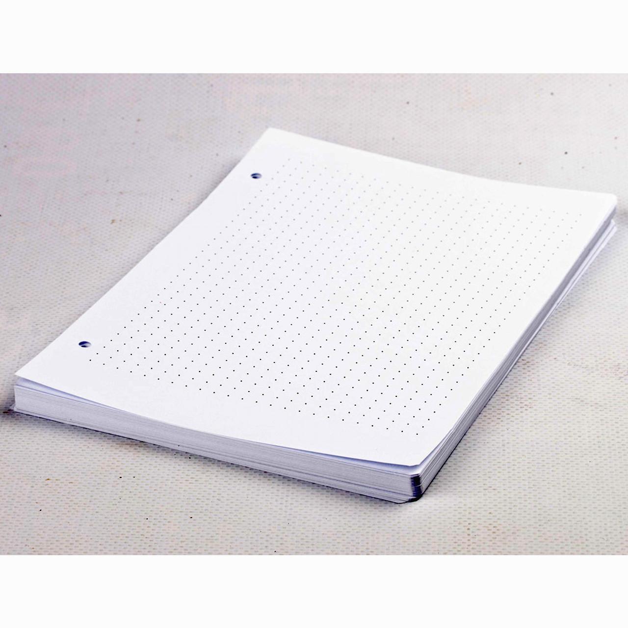 Бумага в точку для блокнота Формата А5.
