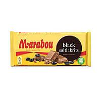 Marabou Black Saltlakrits 180 g