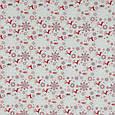 Декоративная новогодняя ткань с принтом олени на сером фоне Ткани для штор на метраж с пошивом, фото 2