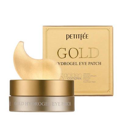 Гідрогелеві патчі для очей з золотим комплексом +5 - PETITFEE Gold Hydrogel Eye Patch