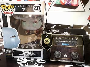 Набор Darius Box Destiny 2 Titan Ed. (фигурка FunkoPop+накладки KontrolFreek+медальон)