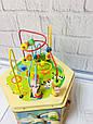 Развивающая деревянная игрушка (бизиборд, пальчиковый лабиринт) арт. 31353, фото 5