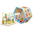 Развивающая деревянная игрушка (бизиборд, пальчиковый лабиринт) арт. 31353, фото 8