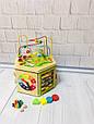 Развивающая деревянная игрушка (бизиборд, пальчиковый лабиринт) арт. 31353, фото 3