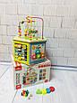 Развивающая деревянная игрушка (бизиборд, пальчиковый лабиринт) арт. 31353, фото 6