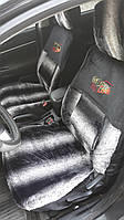 Супер качество! Чехлы на передние сидения, плотные, универсальные, с карманами