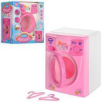 Детская стиральная машина 2027 пластиковая розовая