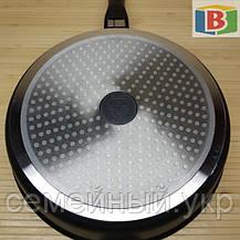 Сковорода сотейник с керамическим покрытием Размер 28 см Swiss Zurich 28cм SZ-155-28 Швейцария, фото 3