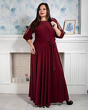 Ошатне жіноче плаття максі 52 - 62