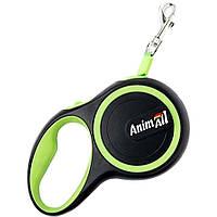 Рулетка-поводок для собак AnimAll S для собак до 15 кг