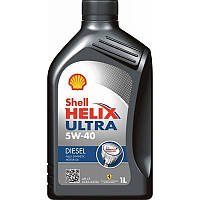 Моторное масло Shell Helix Ultra Diesel 5W40 (1л)