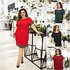 Р-ри 50-60 Ошатне плаття діжечку, з кишенями Батал 2030