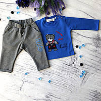 Синий костюм на мальчика Breeze 143. Размер 68 см, 74 см, 80 см, 86 см, 92 см