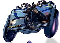 Геймпад H-5 с вентилятором охлаждения для Pubg mobile Call Of Duty Fortnite