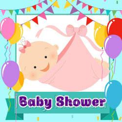 Baby shower Девочка  (Товары для праздника)