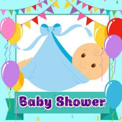 Baby shower Мальчик (Товары для праздника)