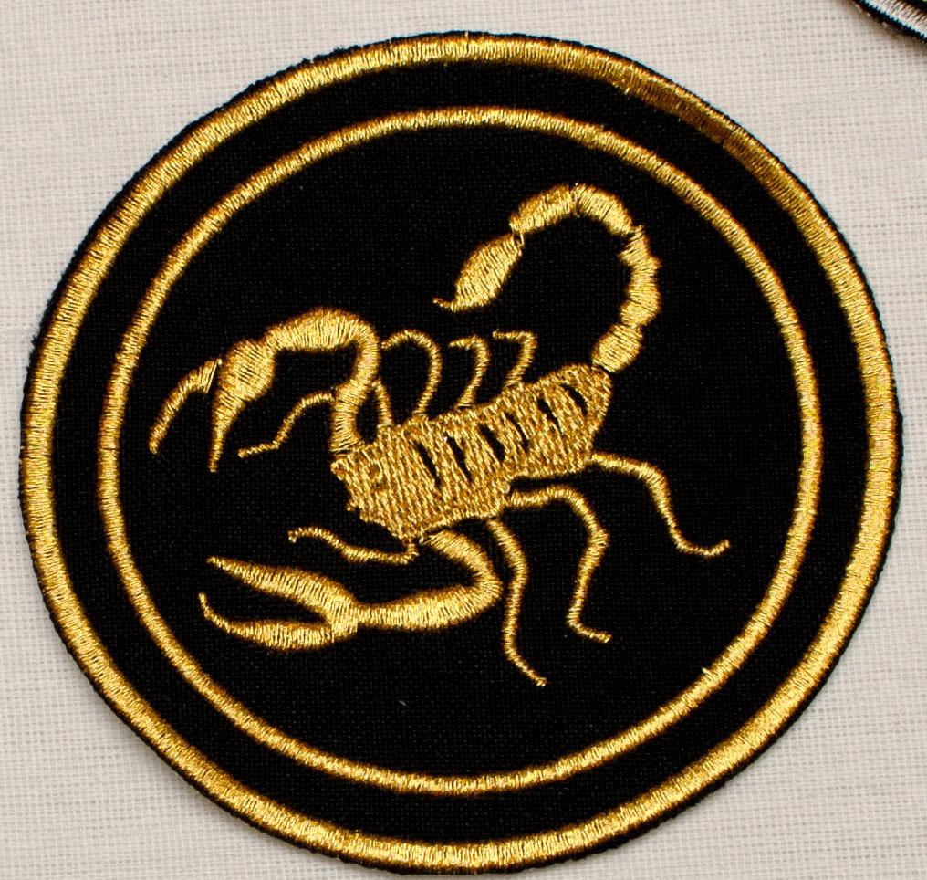 Шеврон Скорпион  на липучке  на липучке
