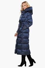 "Воздуховик женский модный на зиму Braggart ""Angel's Fluff"" синий размер 40 42 44 46 48 50 52 54 56 58 60, фото 2"