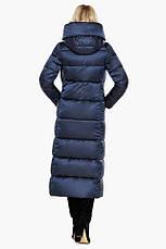 "Воздуховик женский модный на зиму Braggart ""Angel's Fluff"" синий размер 40 42 44 46 48 50 52 54 56 58 60, фото 3"