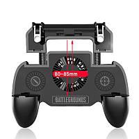 Геймпад SR+ с вентилятором и повербанком 4000mAh триггеры Pubg mobile Call Of Duty