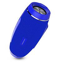 Портативная Bluetooth колонка Hopestar H27 с влагозащитой Синяя jv-22, КОД: 1087541