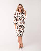 Женское Платье коктейльное размеры 46-56 код 1765