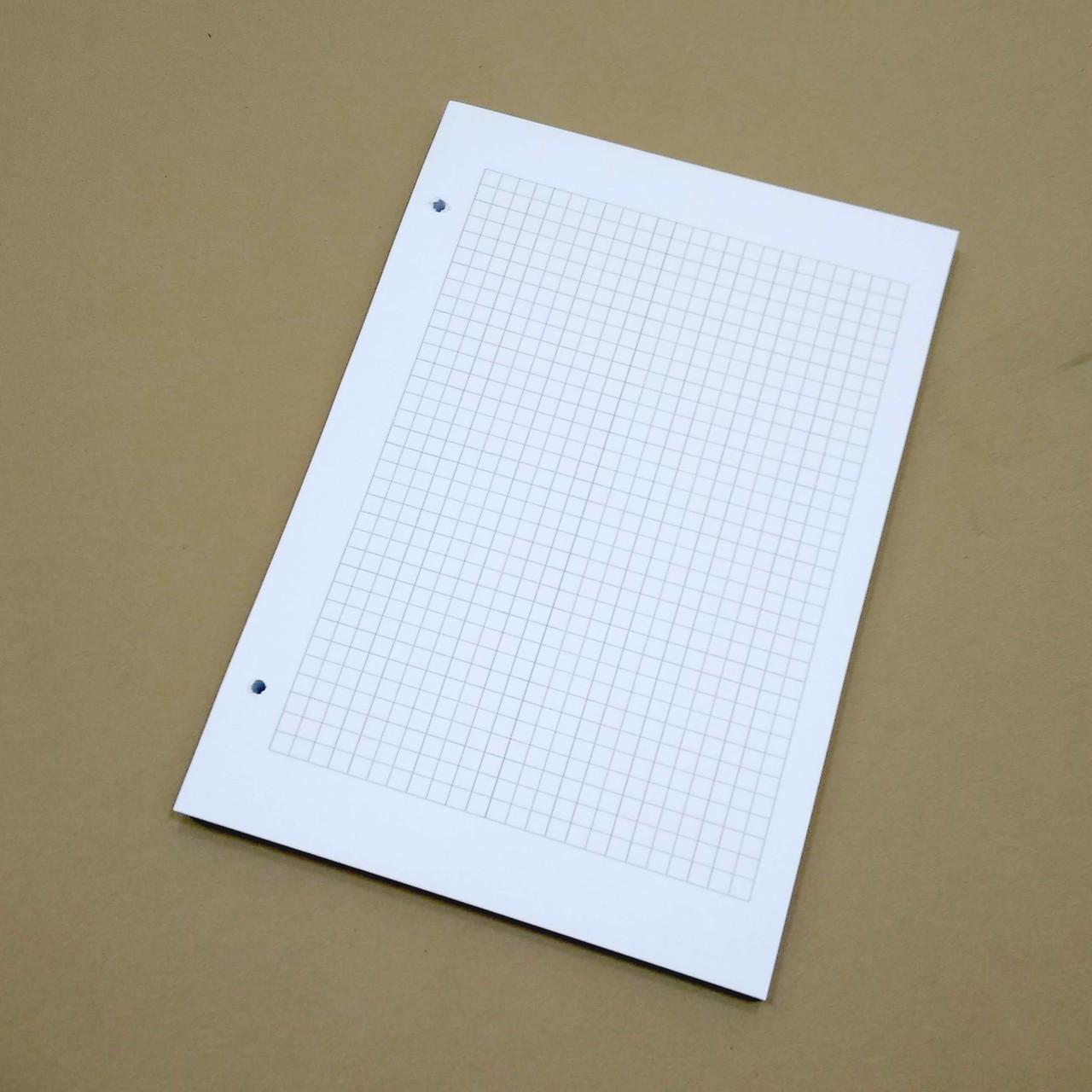 Бумага в клетку для блокнота Формата А5.