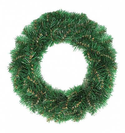 Декор Венок Новогодний Рождественский Из Искусственной Хвои 42х12см (ProFit42), фото 2