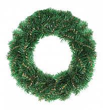 Декор Венок Новогодний Рождественский Из Искусственной Хвои 42х12см (ProFit42)
