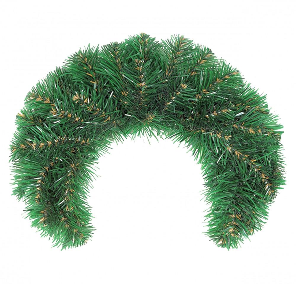 Декор Подкова Новогодняя Рождественская Из Искусственной Хвои 53х32см (ProFit64)