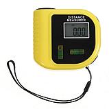 Лазерная линейка RoHS CP-3010 рулетка лазерная с уровнем дальномер электронный, фото 3
