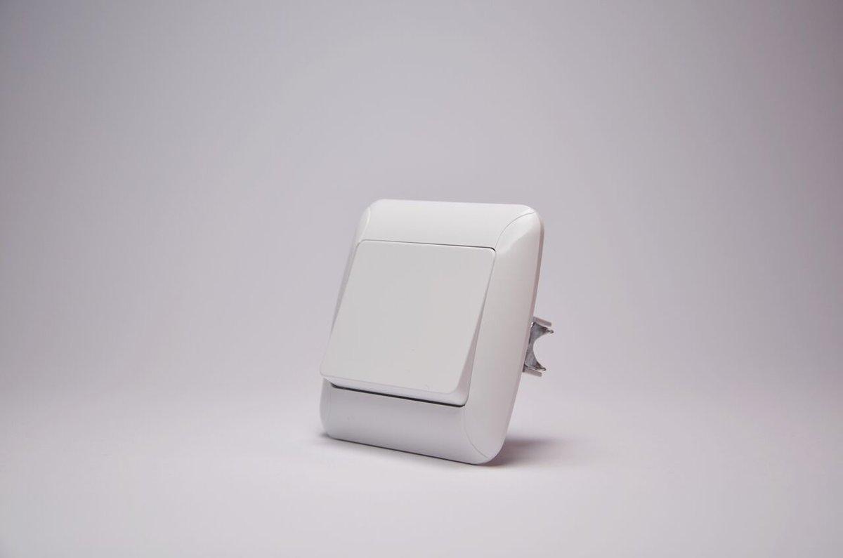 Fantasy выключатель 1-ый белый, фото 1