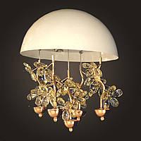 Хрустальная люстра NORDIS LED LIGHTING 8973-350mm-WH, КОД: 130707