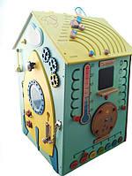 Бизиборд Дом Космос (40х40х60 см) Дверь открывется., фото 1