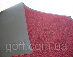 Грязезащитный коврик Париж красный 80х130см