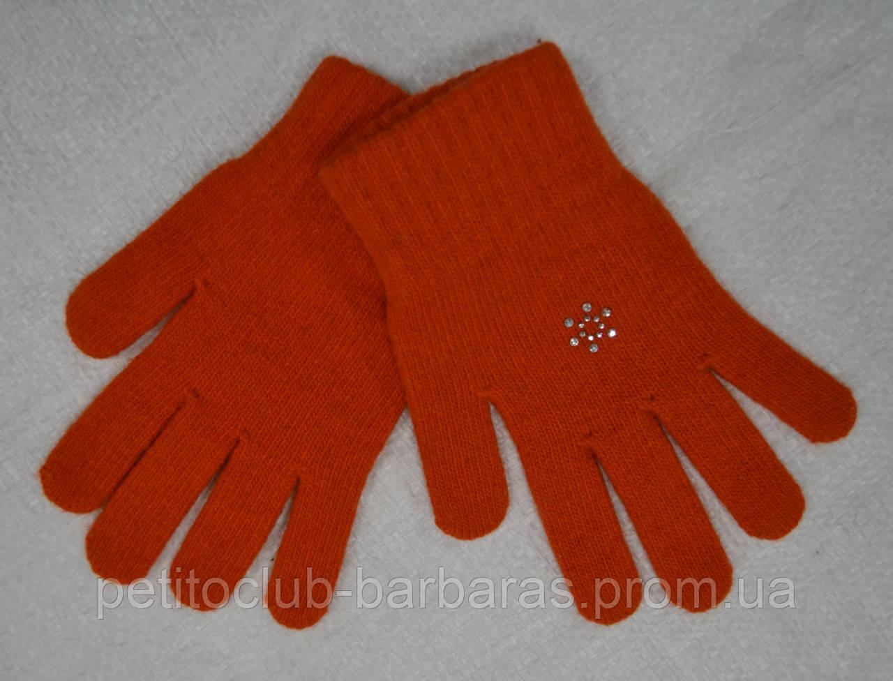 Перчатки для девочки Wool Dzet шерстяные (MargotBis, Польша)