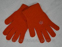 Рукавички для дівчинки Wool Dzet вовняні (MargotBis, Польща)