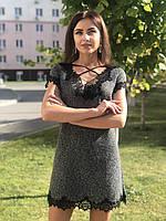 Женское платье из шерсти Poliit 8644, фото 1