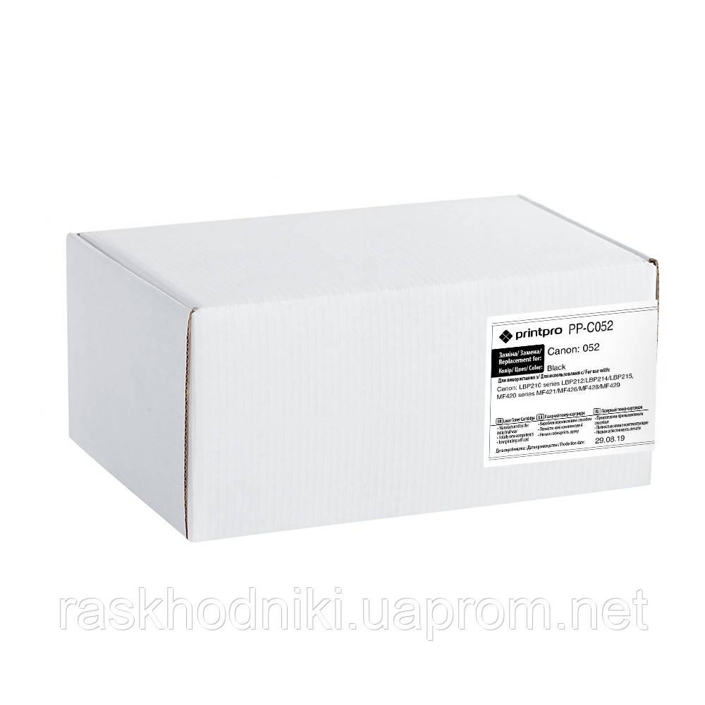 Картридж лазерный PrintPro для Canon:052 (PP-C052)
