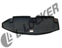 Коврик в багажник Chevrolet TrailBlazer II (12-) 7мест (пластиковый) L.Locker