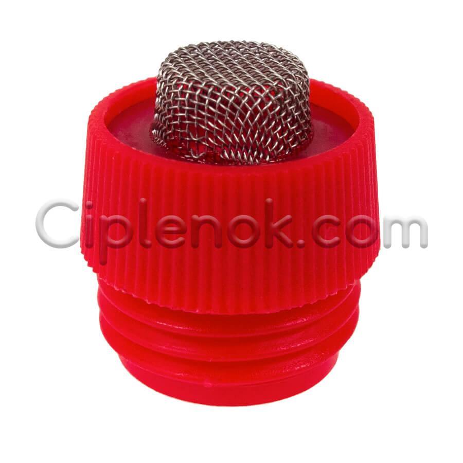 Фильтр сетчатый пластик. к ниппельной поилке для свиней с регулятором давления