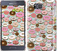 """Чехол на Samsung Galaxy Alpha G850F Пончики в глазури """"2876c-65"""""""