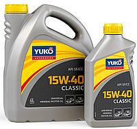 Моторное масло YUKO Classic 15w40 1л SF/CC
