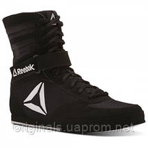 Черные боксерки Reebok Boxing Boot - Buck, фото 3