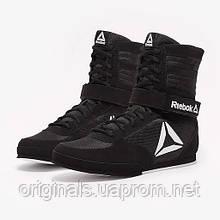 Черные боксерки Reebok Boxing Boot - Buck