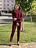 Женский костюм из шерсти Poliit 7151