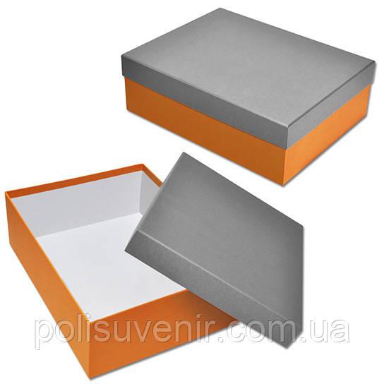 Прямокутна коробка кришка дно 160х260х80 мм.